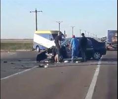 Accident pe DE 584, la ieșire din localitatea Albina