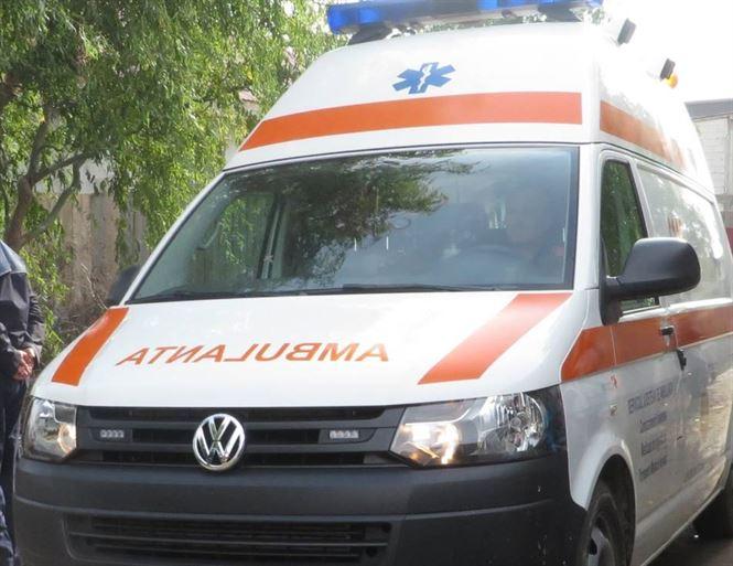 Accident pe DJ 221 în localitatea Romanu