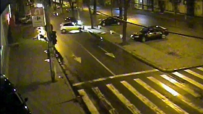 Accident rutier pe bulevardul Al.I.Cuza