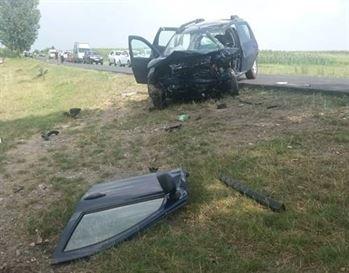 Accident mortal la iesire din comuna Gemenele