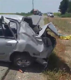 Accident mortal pe DN 23, în apropiere de intrarea în municipiul Brăila