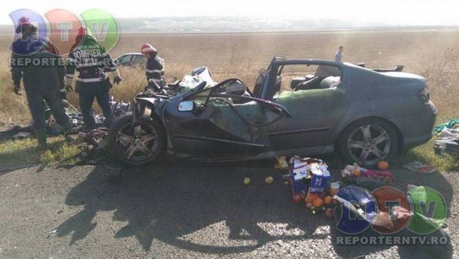 Accident mortal cu trei victime