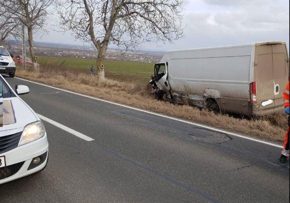 Un brăilean implicat într-un accident în județul Tulcea