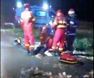 O persoană decedată și alte două rănite grav în urma unui accident pe DJ 211A