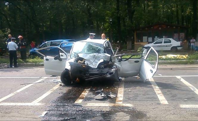 Galerie video+foto: Accident mortal pe DN 2 B in zona Padurii Stejaru