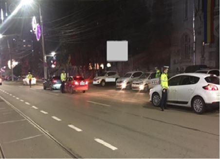101 brăileni sancționați pentru nerespectarea interdicțiilor de circulație pe timp de noapte