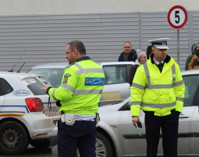 Doar 7 sancţiuni contravenţionale aplicate ieri de polițiștii brăileni