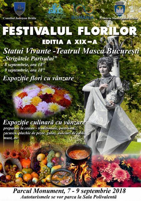 Festivalul florilor ediția de toamnă