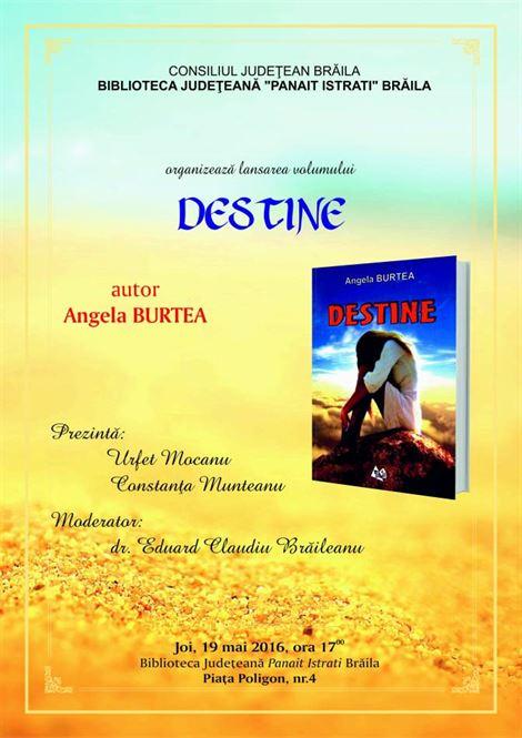 Lansare carte Angela Burtea