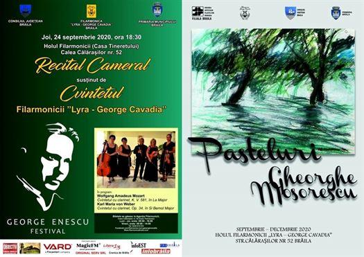 Recital cameral oferit de Filarmonica Lyra-George Cavadia