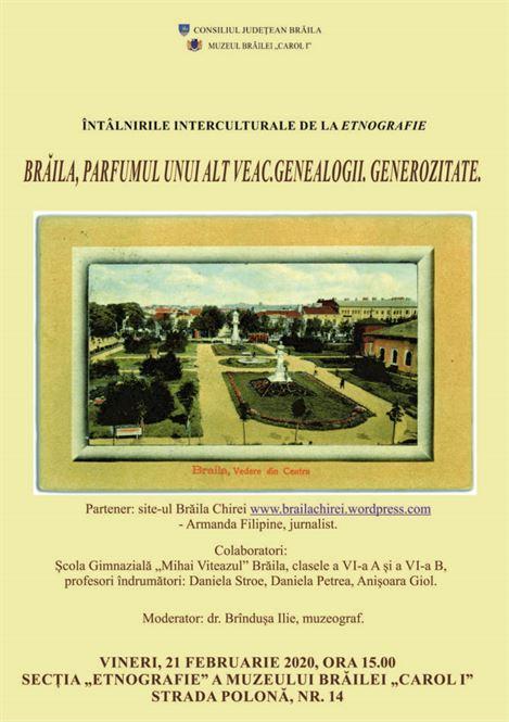Întâlnirile interculturale de la Etnografie