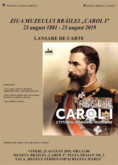 """Lansare de carte de Ziua Muzeului Brăilei """"Carol I"""""""