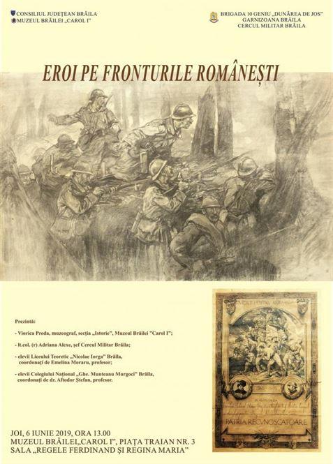 Eroi pe fronturile românești