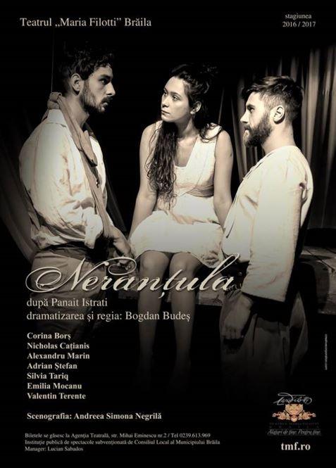 Trei spectacole la acest sfarsit de saptamana la Teatrul Maria Filotti