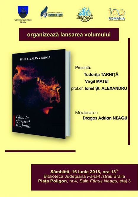 "Alina Iorga – lansare de carte la Biblioteca Judeteana ""Panait Istrati"" Braila"