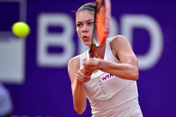 Andreea Mitu, revelatia turneului de la Roland Garros