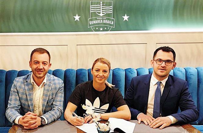 Aneta Udriștioiu revine la HC Dunărea Brăila