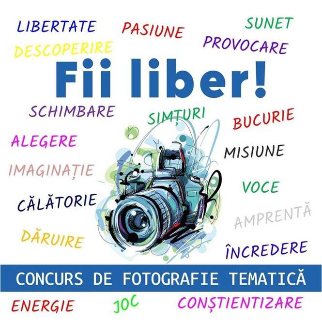 """Campanie de prevenire a consumului de substanțe psihoactive – """"FII LIBER!"""