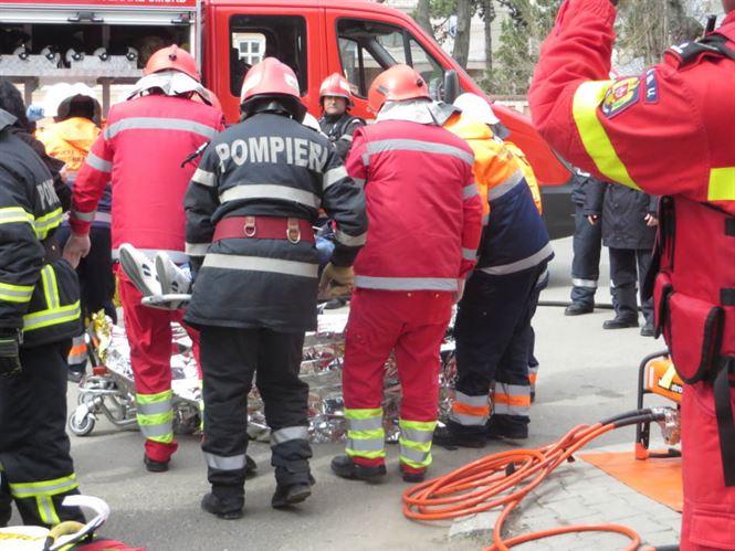Acțiuni de pregătire organizate de ISU Brăila