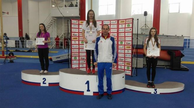 Adelina Sandu campioana nationala si la junioare I