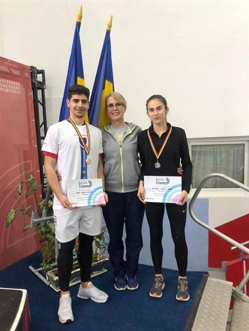 Trei medalii pentru atleții brăileni la naționalele de juniori 1
