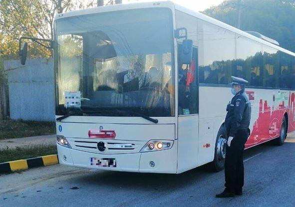 Depistat conducând un autobuz fără a deține permis corespunzător