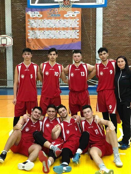 Echipa Colegiului N. Bălcescu, locul 2 la faza zonală a ONSS la baschet masculin – licee