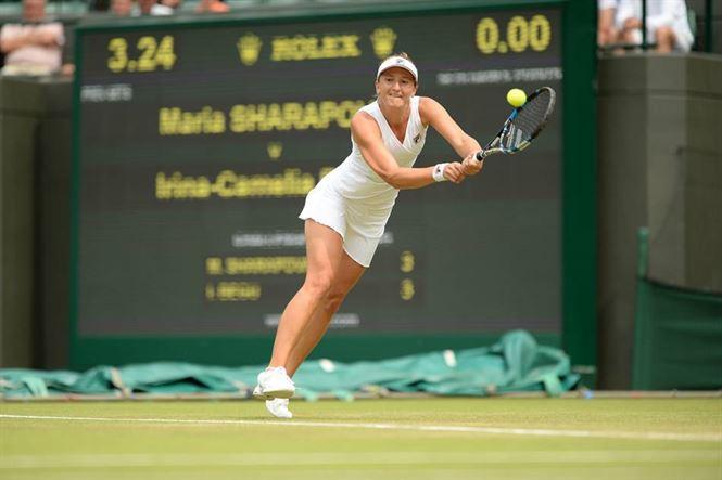 Begu eliminata de Sarapova in turul 3 la Wimbledon