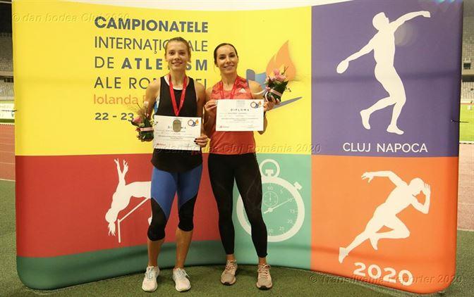Iulia Banaga, două medalii de argint la Campionatele Internaționale ale României de atletism