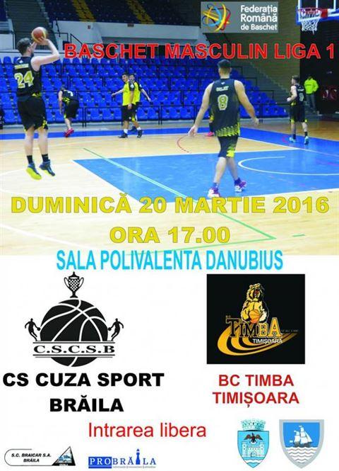 Cuza Sport tinteste victoria in meciul cu Timba Timisoara