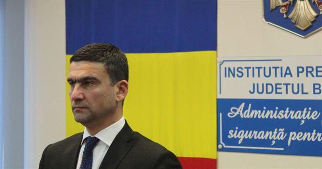 Cătălin Boboc a depus jurământul de Prefect al județului Brăila