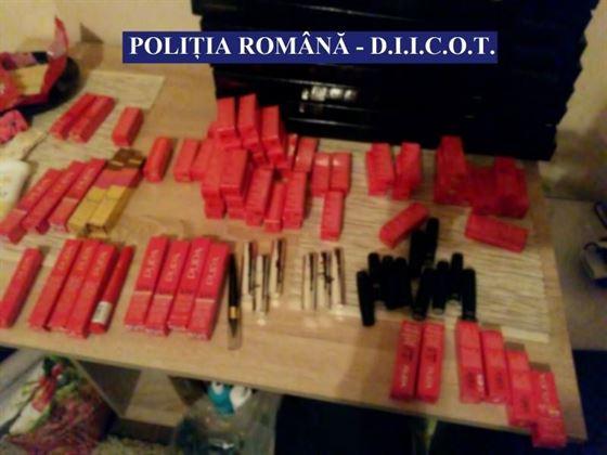 Perchezitii la un grup infractional specializat in furt de cosmetice din tarile UE