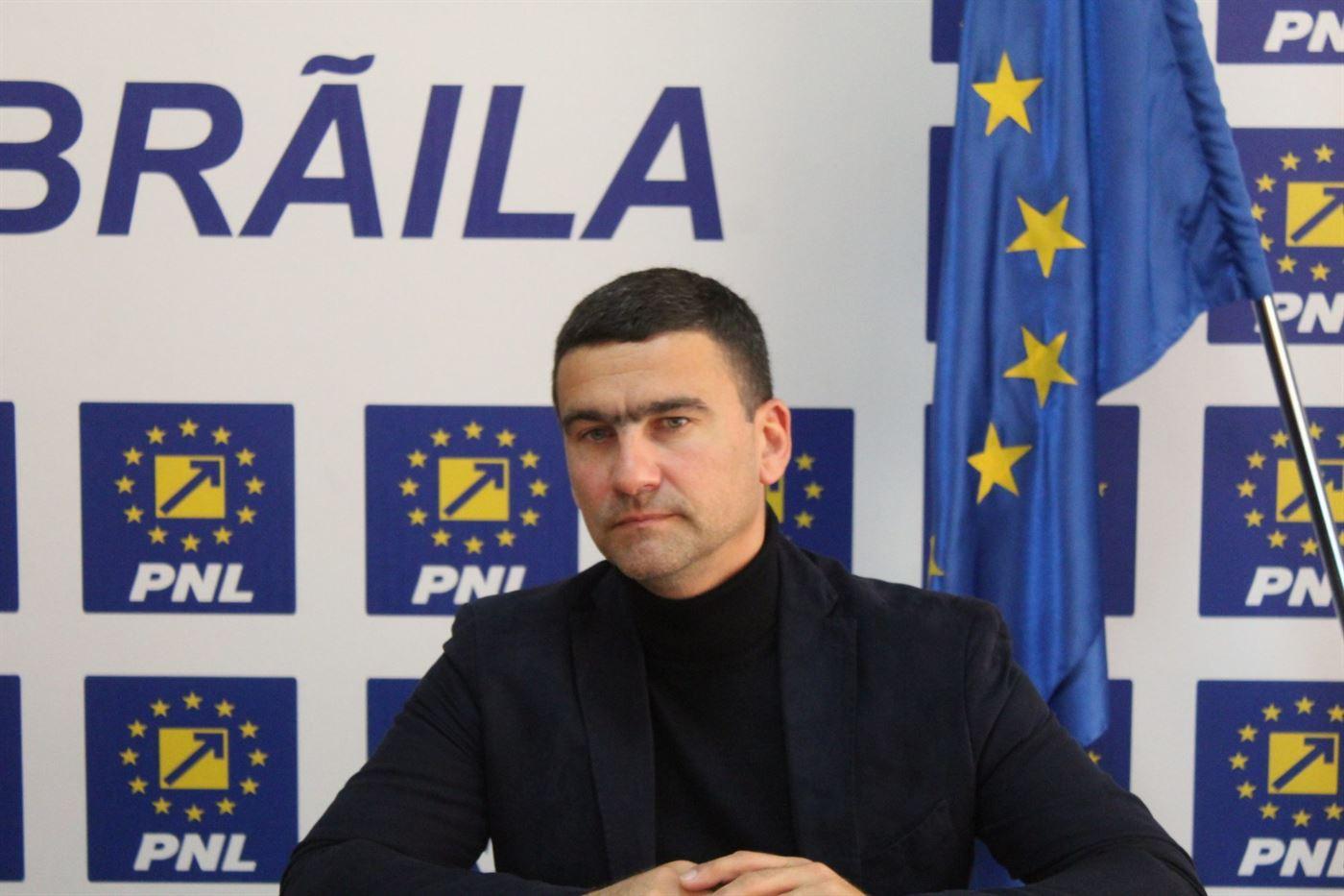 """Cătălin Boboc, președinte PNL Brăila: """"Salariul mediu net va crește cu aproape 50% față de nivelul din 2020"""""""