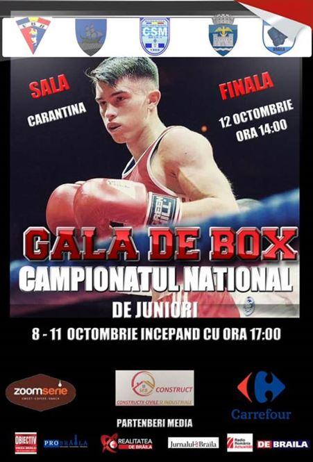 33 de meciuri în prima zi a campionatului național de box pentru juniori