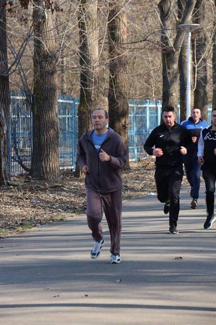 Militarii brăileni au alergat de Ziua Consiliului Internaţional al Sportului Militar