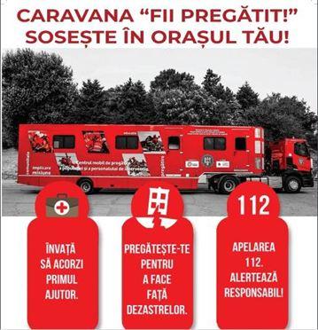 """Caravana SMURD """"Fii pregătit"""" vine la Braila si Faurei"""
