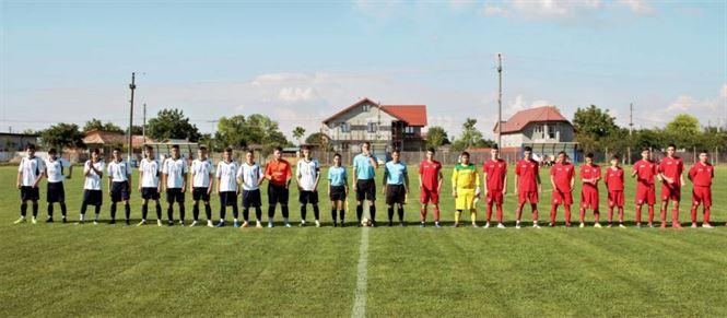 Comunal Cazasu a câștigat cu 4-1 meciul tur din etapa interjudețeană a campionatului de juniori A1