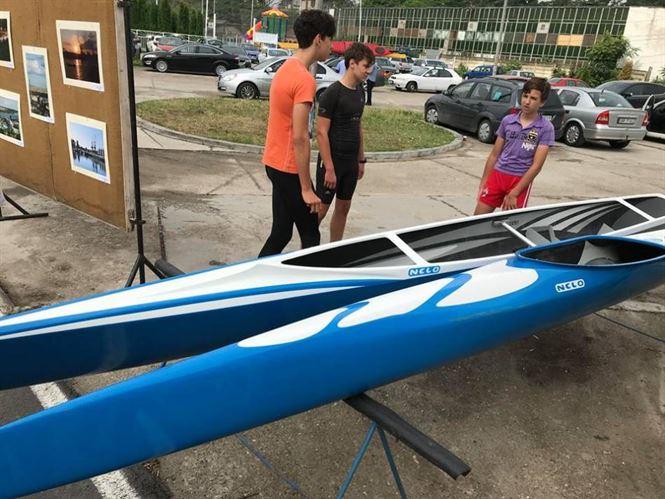Astazi se desfasoara Cupa Dunarii de Jos la caiac-canoe