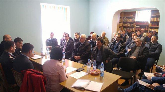 Galerie foto: Membrii ATOP Braila s-au intalnit cu comunitatea locala din comuna Traian