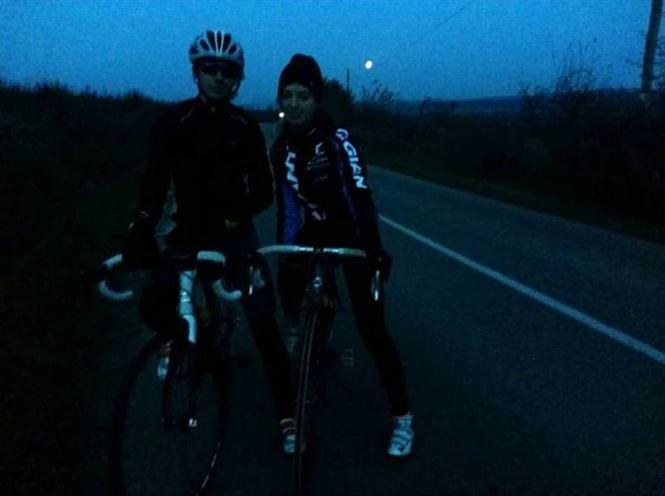 Andreea şi Tudor Ciolacu au reprezentat CSM Brăila la campionatul național de ciclocros