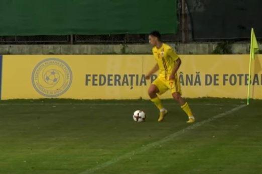 Braileanul Ciucureanu a jucat 30 de minute pentru Romania U19 in amicalul cu Israel