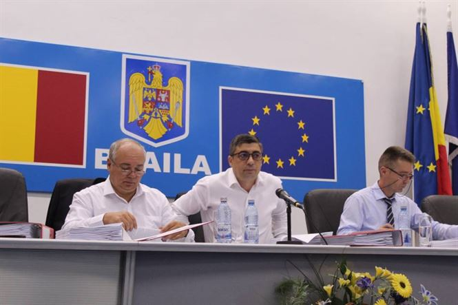 Ședință ordinară a CJ Brăila pe 26 septembrie