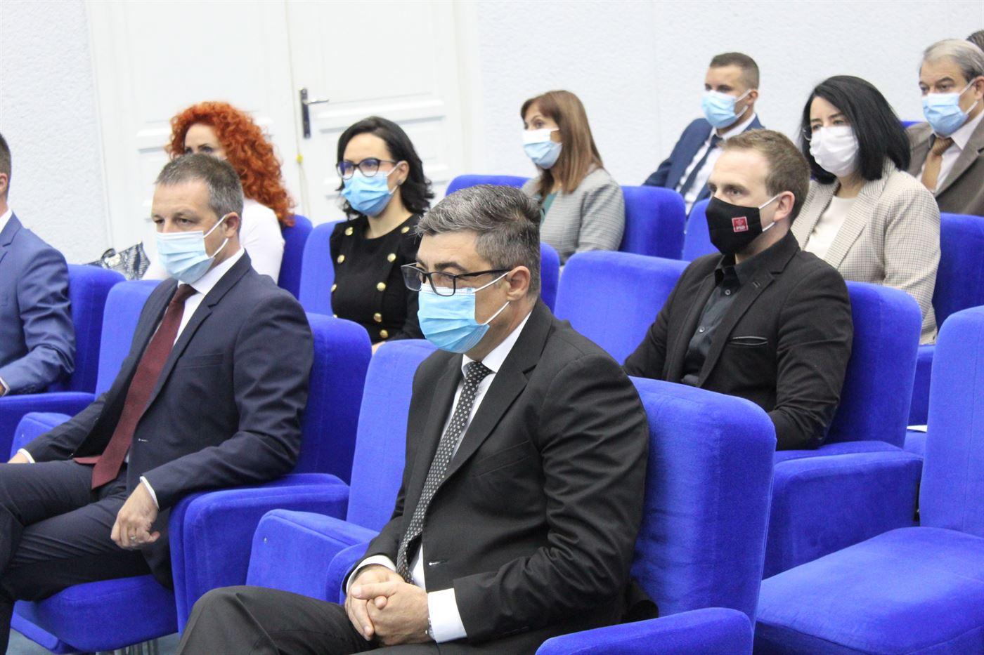Consilierii județeni au depus astăzi jurământul pentru constituirea noului Consiliu Județean Brăila