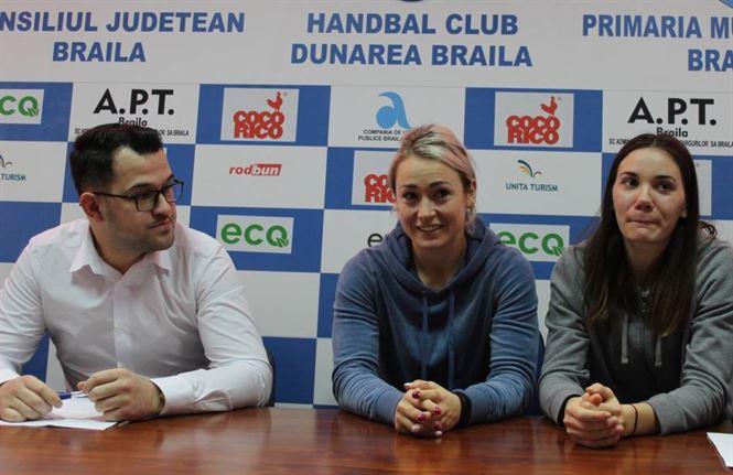 Conferință de presă a conducerii HC Dunărea Brăila