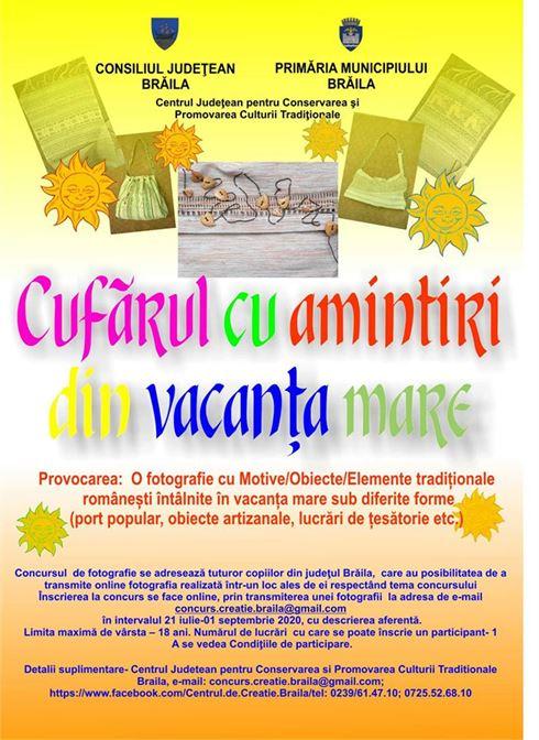 Centrului Județean pentru Conservarea și Promovarea Culturii Tradiționale Brăila