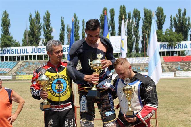 Brăileanul Gabriel Comănescu locul 3 în clasamentul final al campionatului de dirt-track