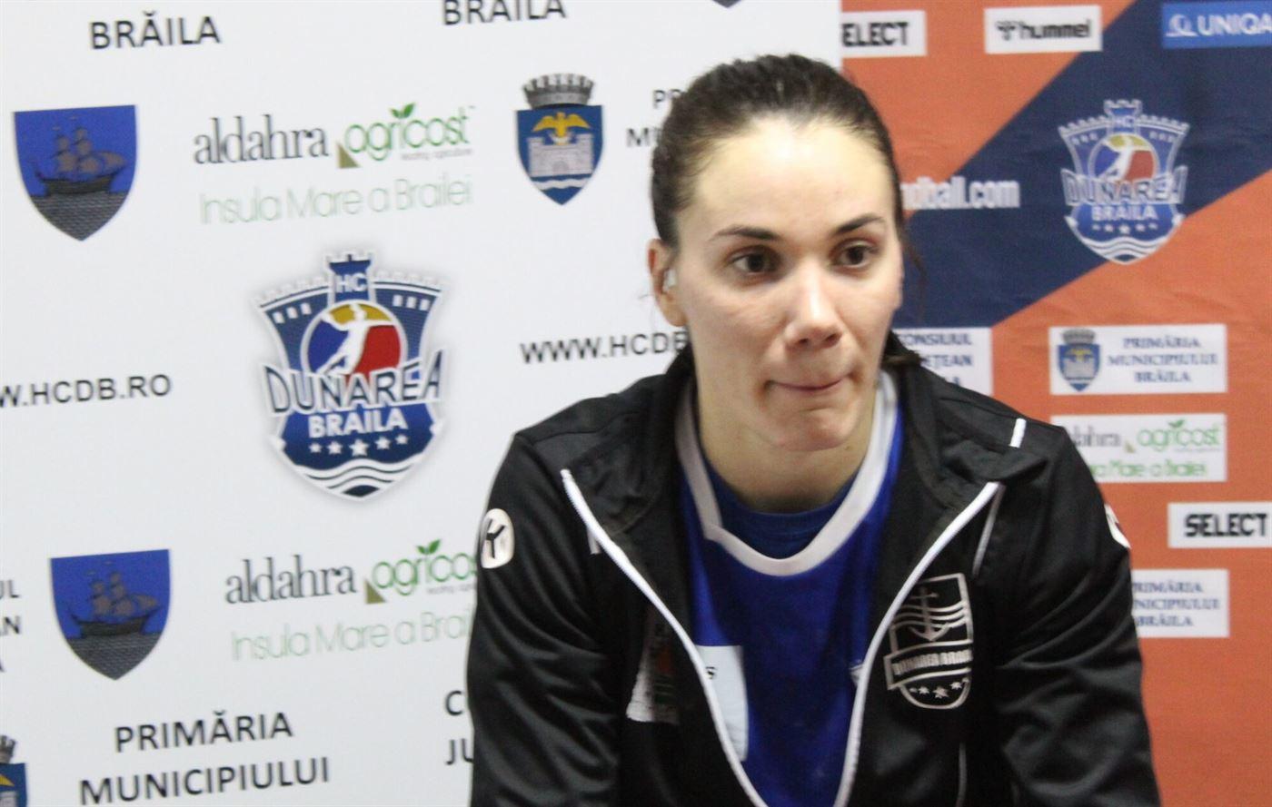 Declarații Elena Dache după meciul cu Siofok