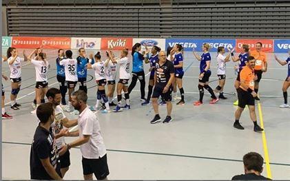 HC Dunărea a pierdut la limită ultimul meci de verificare jucat în Croația, cu RK Podravka Koprivnica