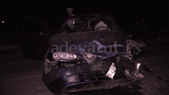 Un brailean a incercat sa evite un caine si a provocat un accident cu victime