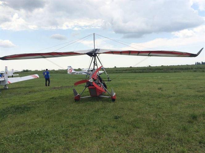 Accident aviatic la Vadeni